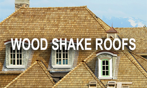 Minnesota home with wood shake shingles on roof