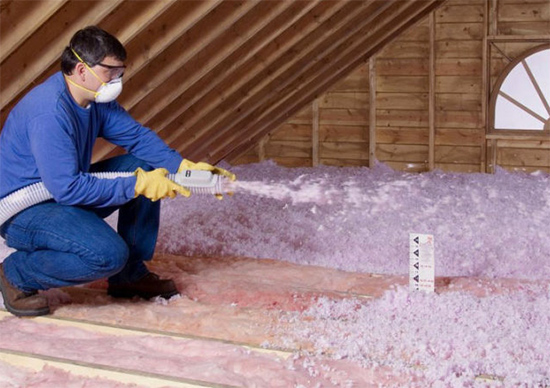 A guide to different types of home wall insulation prominent blown in insulation offers better coverage than batt but isnt something you should try and diy a specialized vacuum like machine is used to blow dry solutioingenieria Gallery