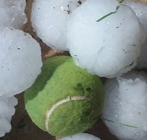 8 5 19 Hail Storm Hits Twin Cities Delano Medina
